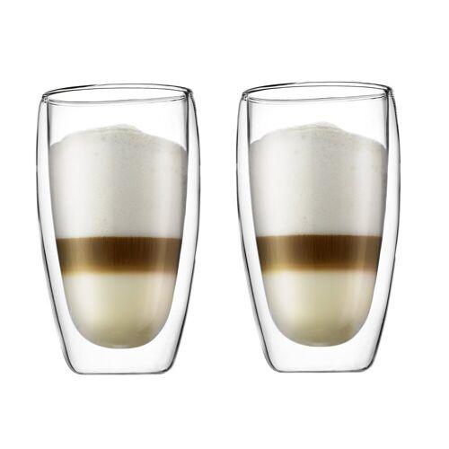 Bodum Pavina doppelwandiges Glas 2er Pack 45cl