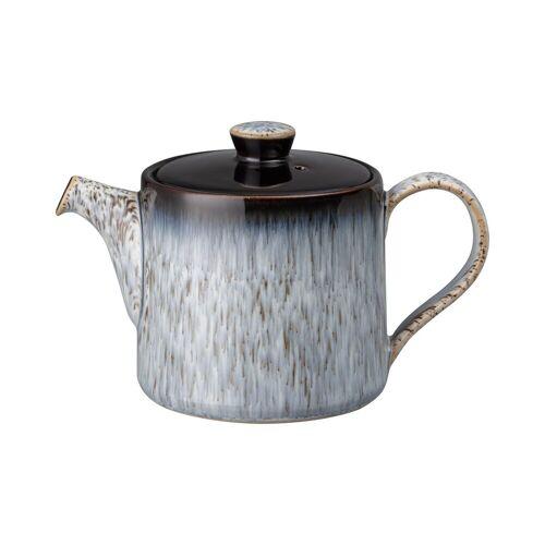 Denby Halo brew Teekanne 0,44 l Blau-grau-schwarz