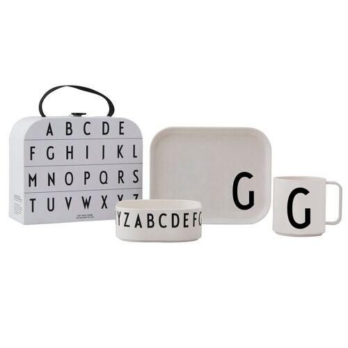 Design Letters Kindergeschirr Set G