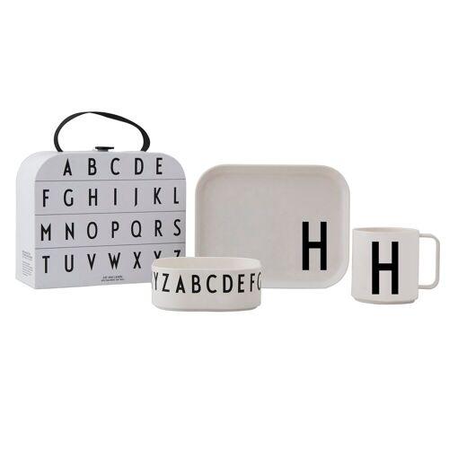 Design Letters Kindergeschirr Set H