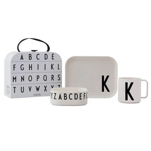 Design Letters Kindergeschirr Set K
