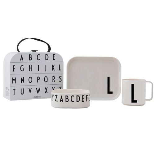 Design Letters Kindergeschirr Set L