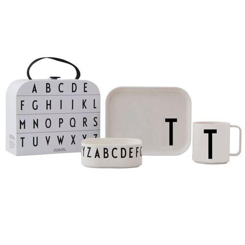 Design Letters Kindergeschirr Set T