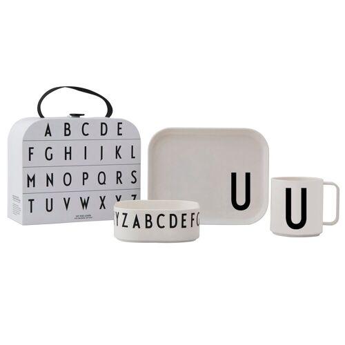 Design Letters Kindergeschirr Set U
