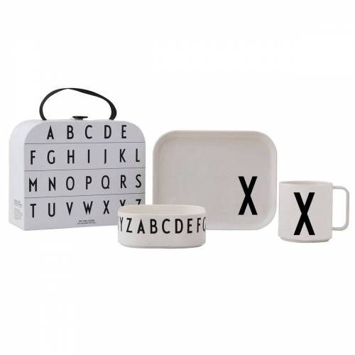 Design Letters Kindergeschirr Set X