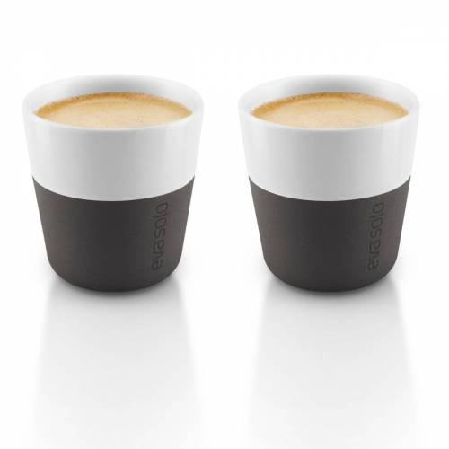 Eva Solo Espresso Becher 2er Pack schwarz 2er Pack