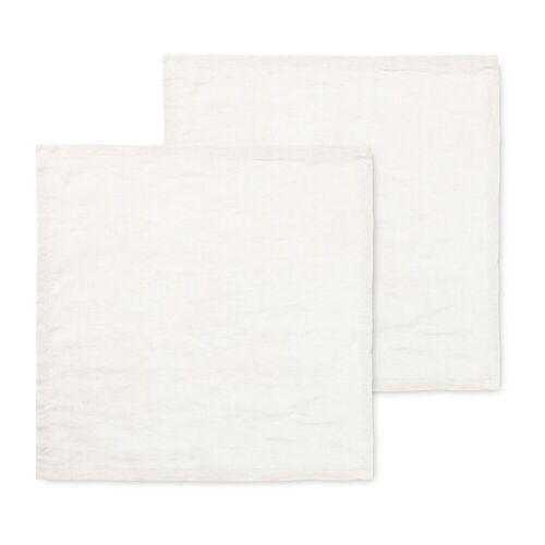 Ferm Living Leinenserviette 2er Pack Off-white