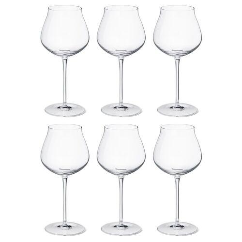 Georg Jensen Sky Rotweinglas 50cl 6er Pack Kristallin