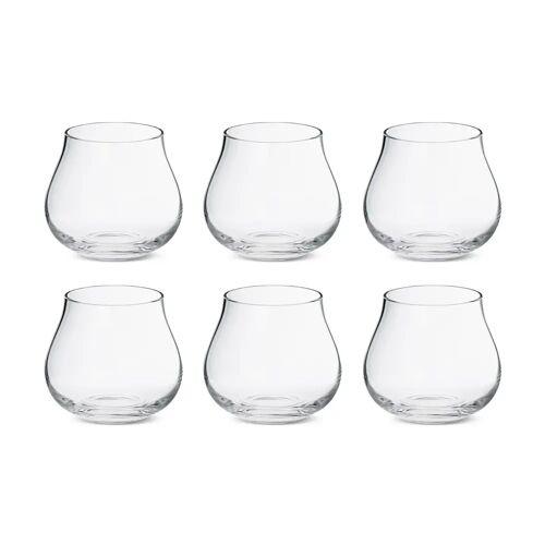 Georg Jensen Sky Wasserglas flach 38cl 6er Pack Kristallin