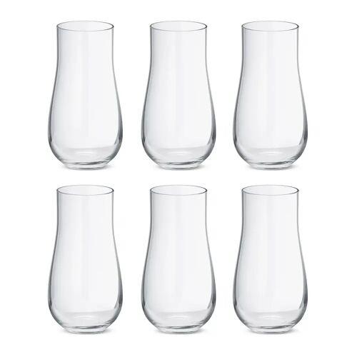 Georg Jensen Sky Wasserglas hoch 45cl 6er Pack Kristallin