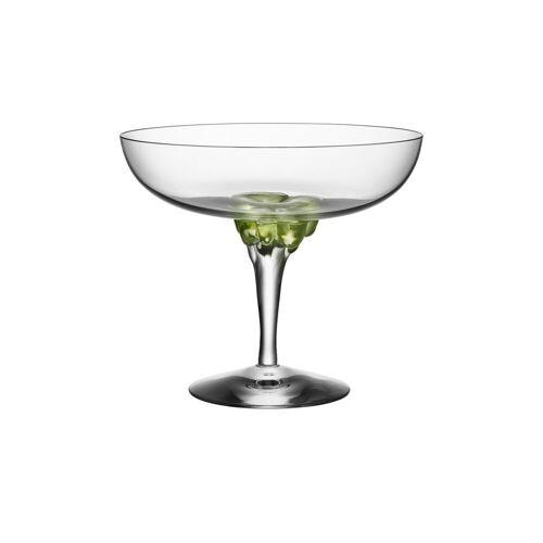 Kosta Boda Sugar Dandy Coupeglas 32cl grün