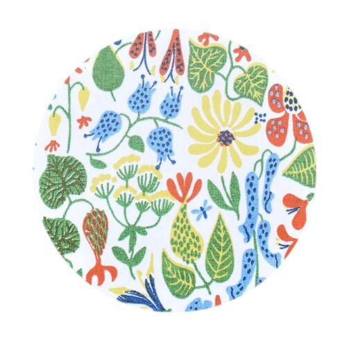 Opto Design Herbarium gelber Topfuntersetzer Ø 21cm