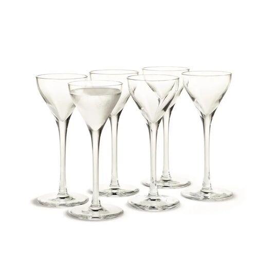 Holmegaard Cabernet Schnapsglas 6er Pack 6cl