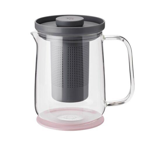 RIG-TIG Brew-It Teekanne 0,7 L grau-rosa