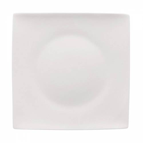 Rosenthal Jade quadratischer Teller 23cm weiß