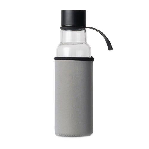 Sagaform To Go Glasflasche 60cl grau