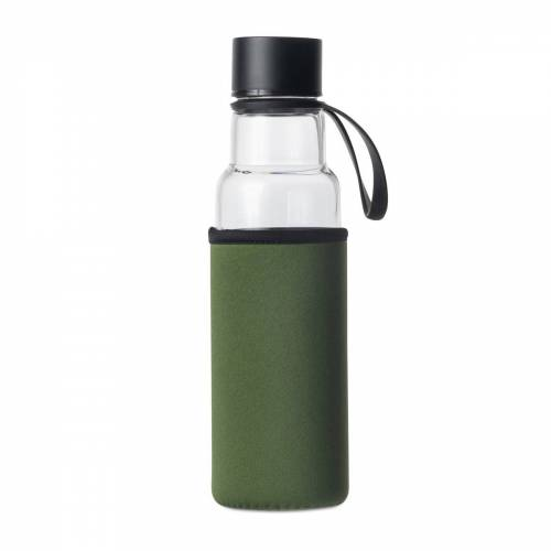 Sagaform To Go Glasflasche 60cl grün