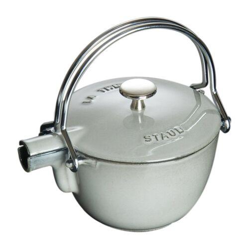 Staub Teekanne rund 1,15 L grau