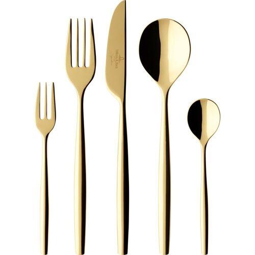 Villeroy & Boch Metro Chic d'Or Besteckset 30 Teile Gold