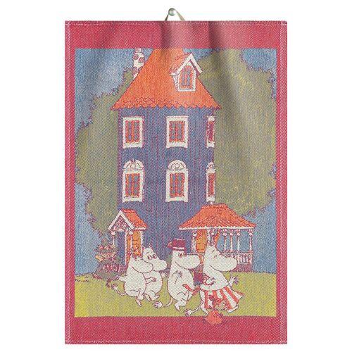 Ekelund Linneväveri Mumin Geschirrtuch 35 x 50cm Moomin house