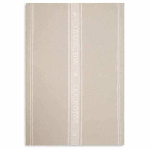 Lexington Icons Star Geschirrtuch 50 x 70cm Beige-white
