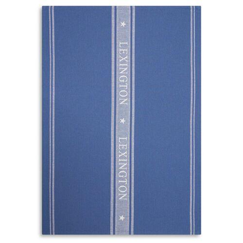 Lexington Icons Star Geschirrtuch 50 x 70cm Blue-white