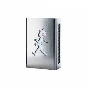 Design: Kristina Stark Hommage match Streichholzschachtel case mini Edelstahl