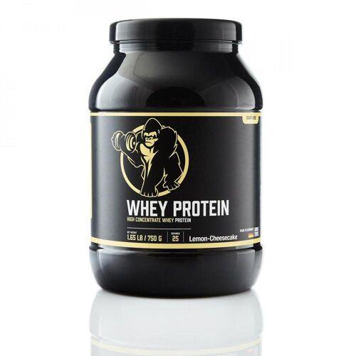 Gorilla Sports Whey Protein Konzentrat Zitrone-Cheesecake 750g