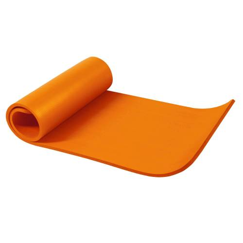 Gorilla Sports Yogamatte Orange 190 x 60 x 1,5 cm
