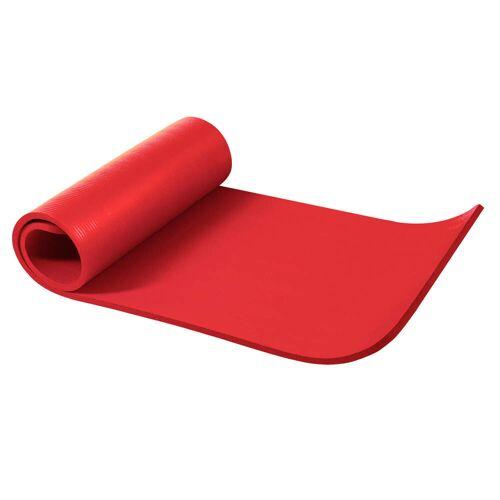 Gorilla Sports Yogamatte Rot 190 x 60 x 1,5 cm