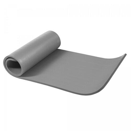 Gorilla Sports Yogamatte Grau 190 x 60 x 1,5 cm