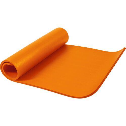 Gorilla Sports Yogamatte Orange 190 x 100 x 1,5 cm
