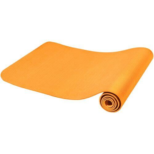 Gorilla Sports Yogamatte Dünn Orange 4 mm