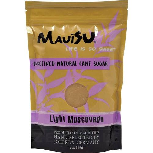 MauiSU Light Muscovado, 500 g