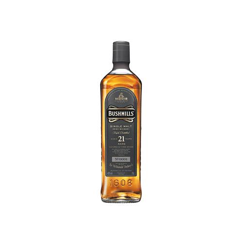 Bushmills 21 Years Whiskey Irish Whiskey