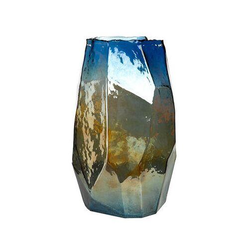 Pols Potten Graphic Luster Large Vase / H 40 cm - irisierendes Glas - Pols Potten - Irisierend-Blau