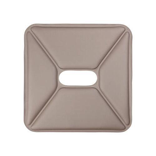 Tolix Sitzauflage / Kunstleder - für Hocker - Tolix - Taupe