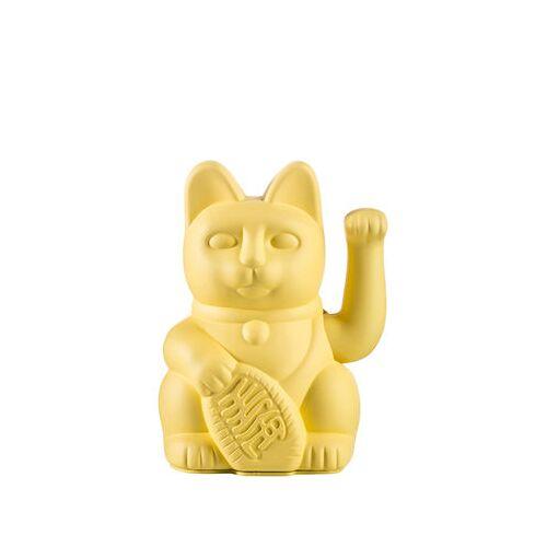 Donkey Lucky Cat Figur / Kunststoff - Donkey - Gelb