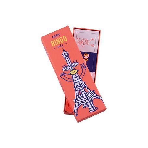 OMY Design & Play Bingo Spielbox / 48 Spielkarten + 8 Bonuskarten + 12 Bingokarten - OMY Design & Play - Bunt