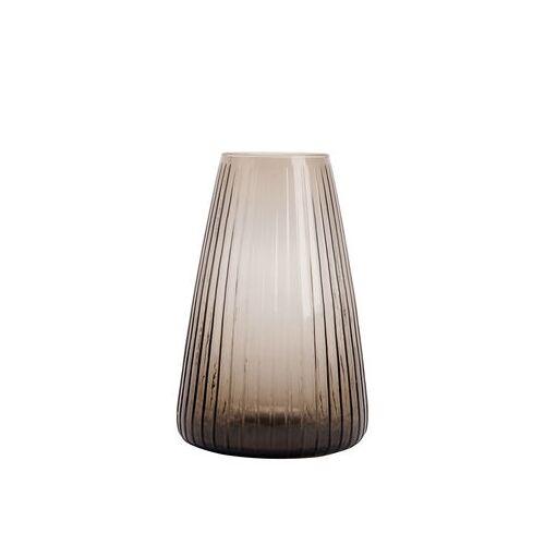 XL Boom Dim Vase / Vase - Ø 19 cm x H 28 cm - XL Boom - Rauchgrau