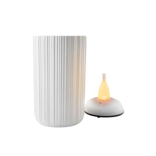 Eva Solo Windlicht LED / H 13 cm - Eva Solo - Weiß