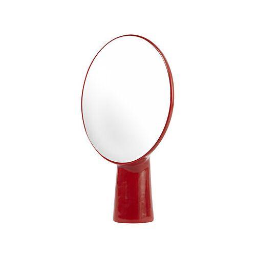 Moustache Cyclope Stellspiegel / zum Aufstellen - H 46,5 cm - Moustache - Rot