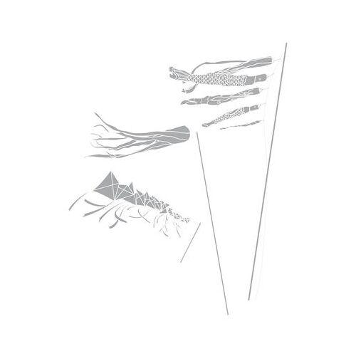 Domestic Let's go fly a kite Sticker - Domestic - Grau