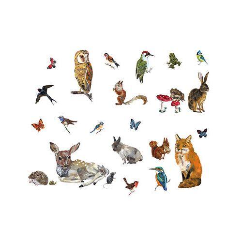 Domestic Les animaux 2 Sticker Set mit 27 Stickern - Domestic - Bunt