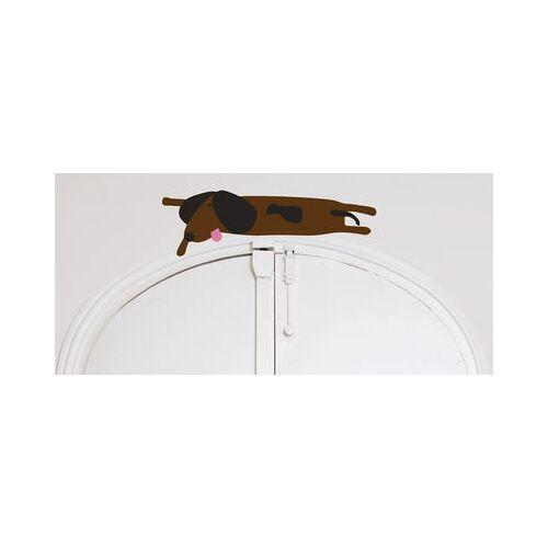 Domestic Dog en kit 1 Sticker - Domestic - Braun