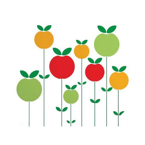 Domestic Pom Sticker - Domestic - Gelb,Rot,Grün