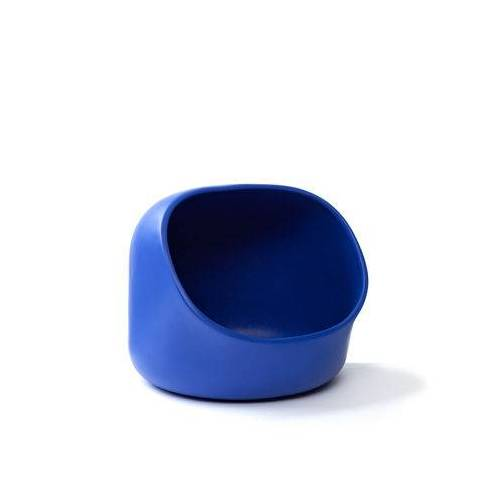 Moustache Ô Korb / Keramik - Moustache - Blau