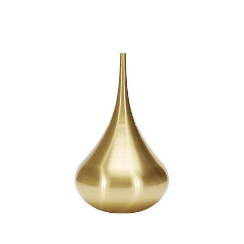 Tom Dixon Beat Vessel Drop Vase / Ø 55 cm x H 96 cm - Messing - Tom Dixon - Messing