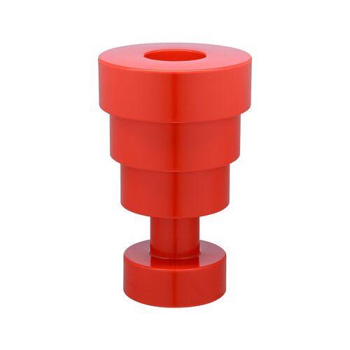 Kartell Calice Vase / H 48 cm x Ø 30 cm - von Ettore Sottsass - Kartell - Rot