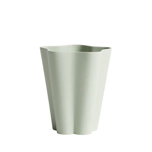 Hay Iris Small Vase / Ø 11 x H 13 cm - Handgemacht - Hay - Grün